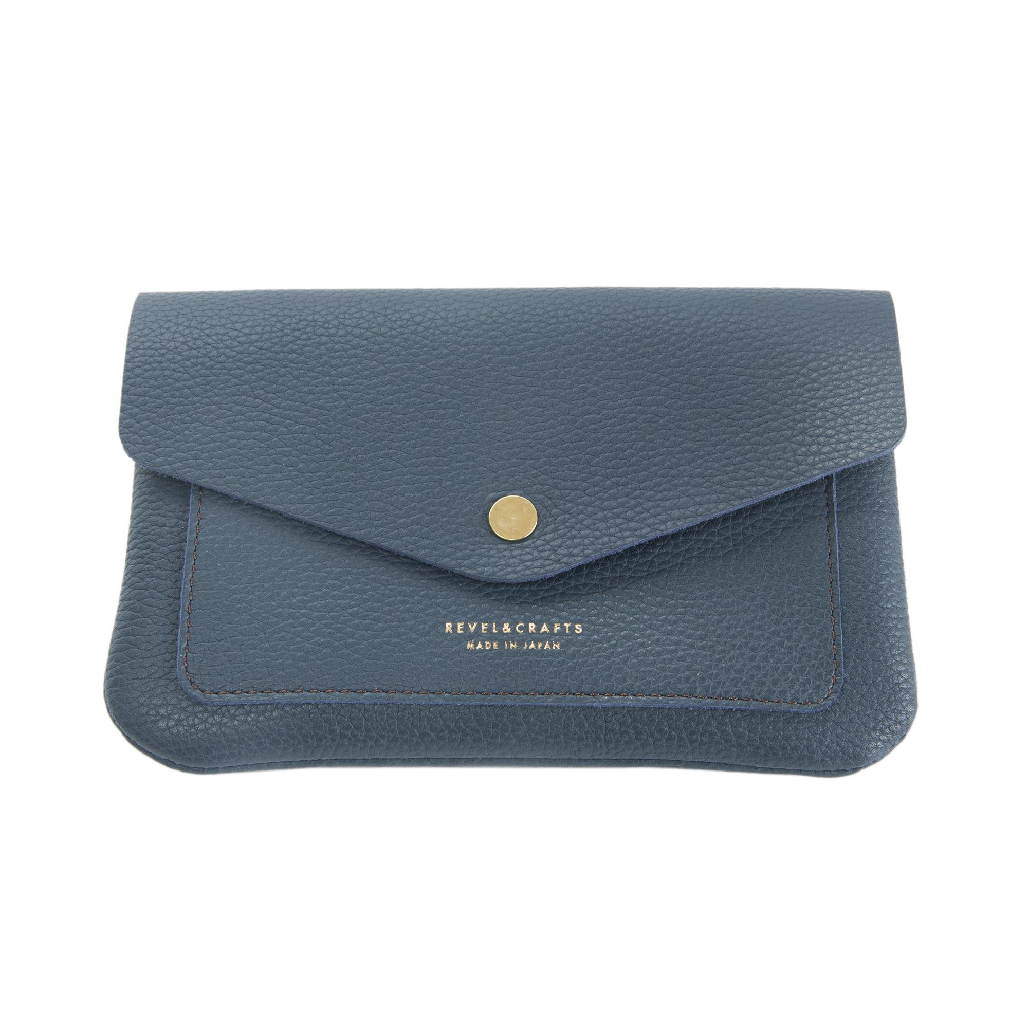 PASSBOOK&PASSPORT CASE BLUE