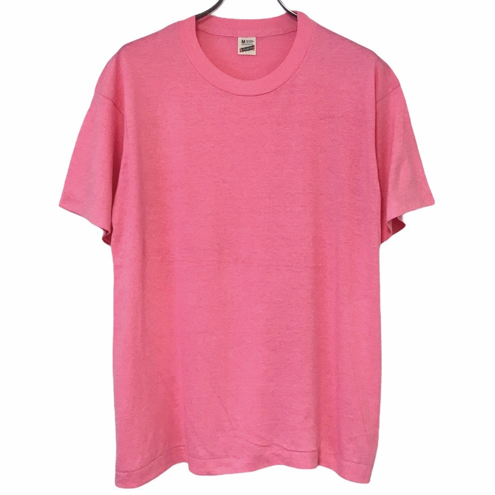 Dead Stock! 80's SCREEN STARS T-shirt made in USA Pink
