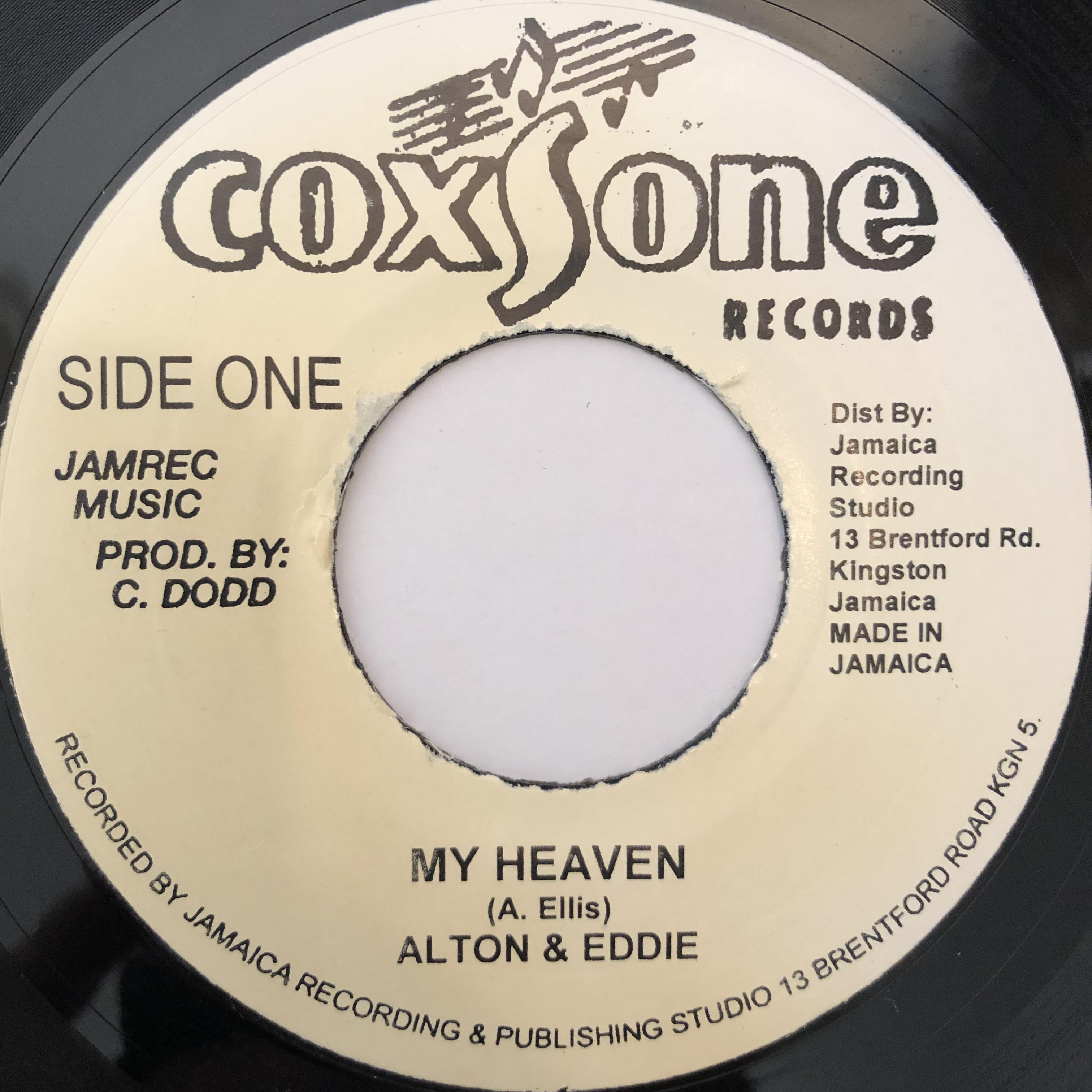 Alton Ellis, Eddy Perkins - My Heaven【7-20242】