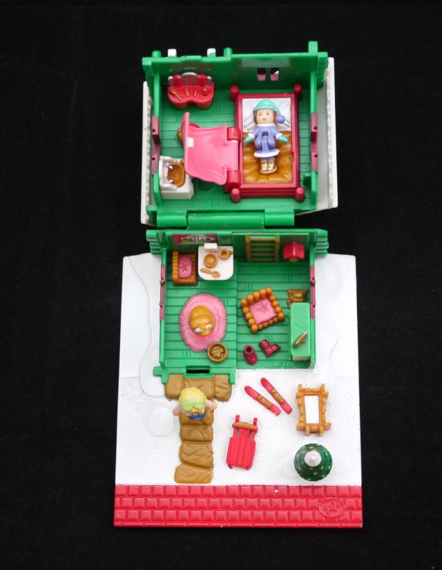 ポーリーポケット ホリデースキーロッジ 1993年 ほぼ完品