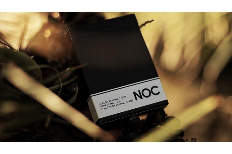 NOC Original Deck (Black) Printed at USPCC by The Blue Crown