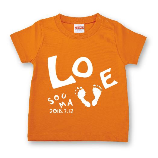 ai-T ashigata【LOVE】オレンジ