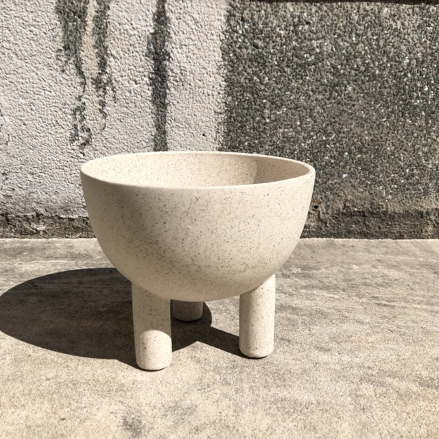 """再入荷!ceramic pot  FARM""""ILTA"""" /White 鉢カバー"""