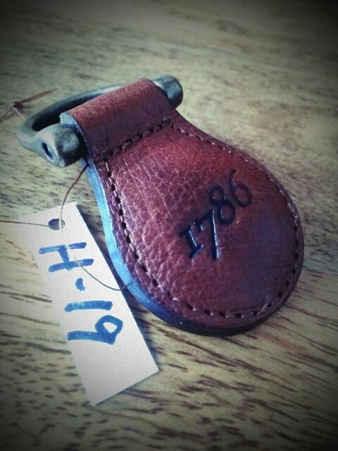 1786 Key Ring H-19