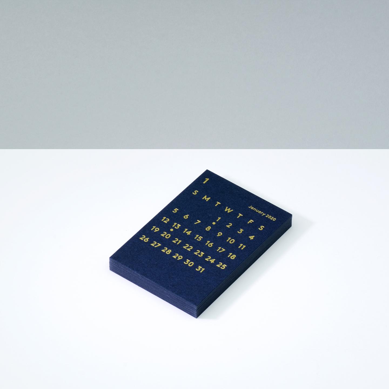 'CLARA' Calendar Refill 2020 Navy
