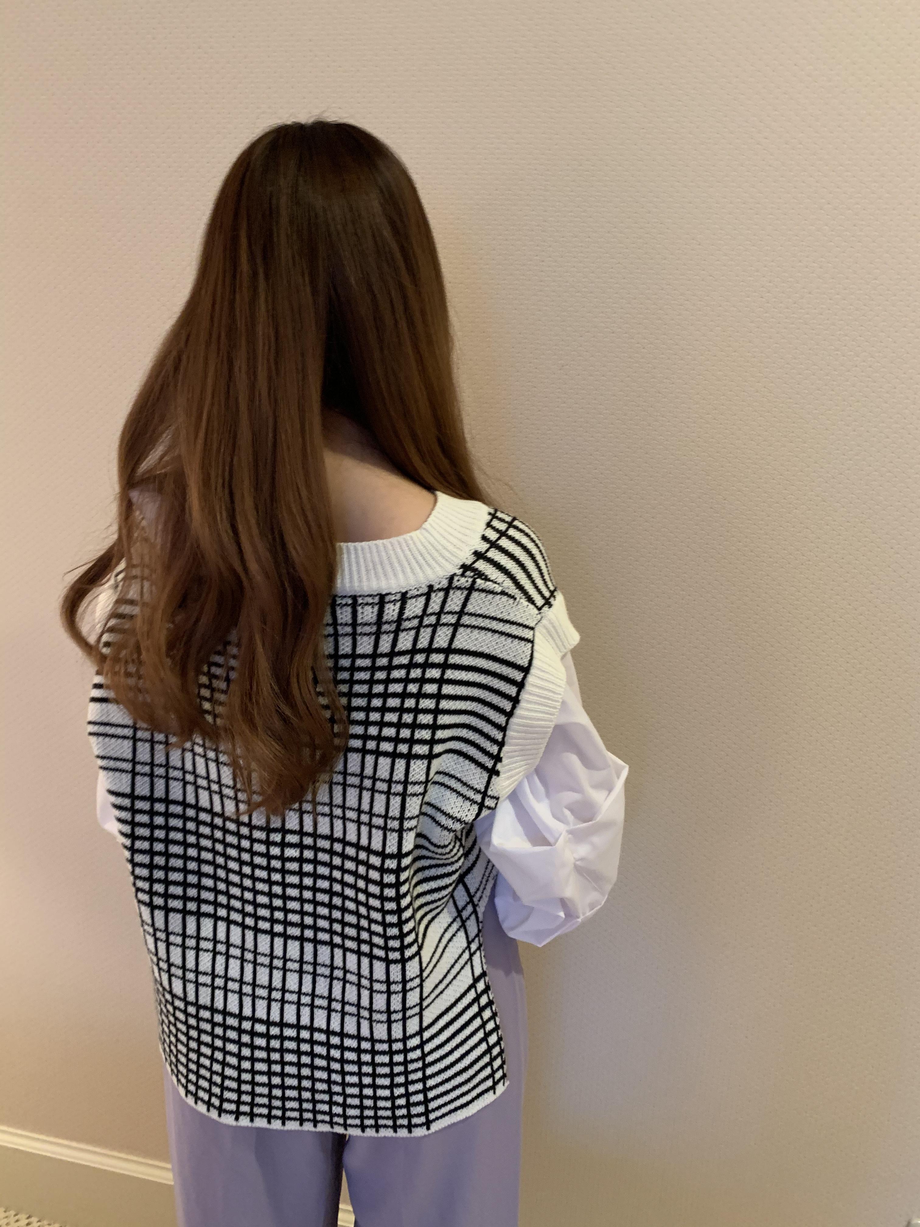 vest set blouse