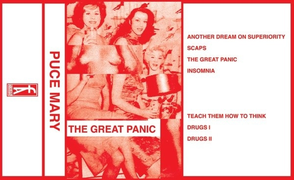 PUCE MARY - The Great Panic   tape C20 - 画像2