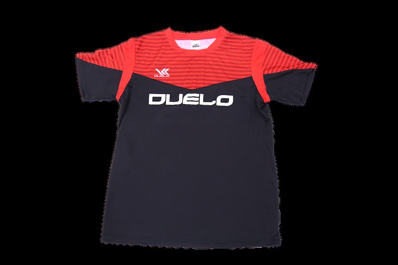 D-001 Plactic Shirt RED/BLK