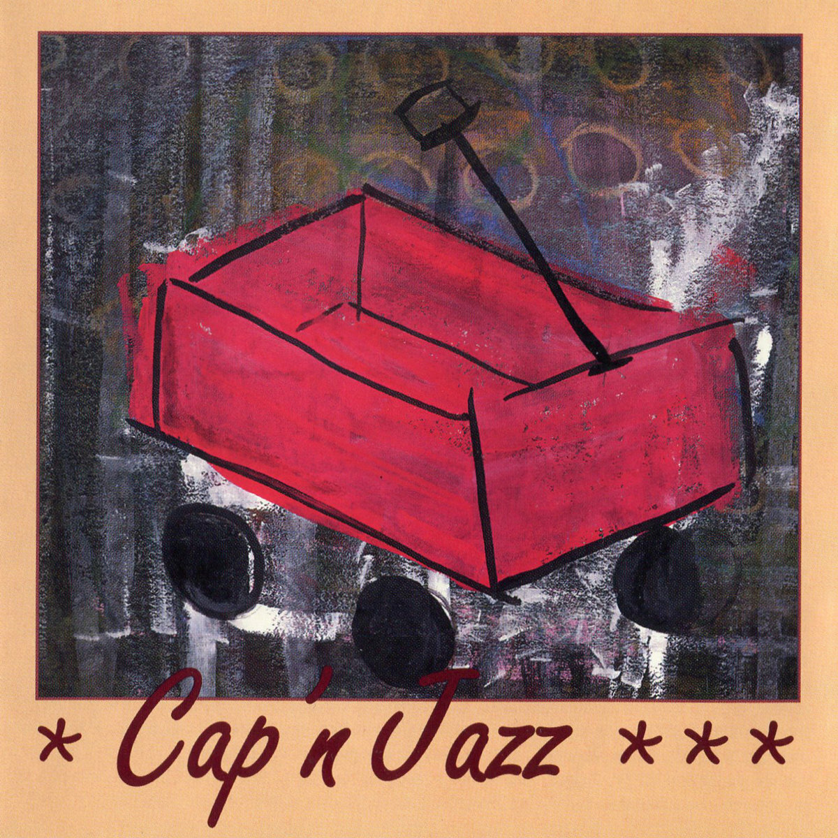 Cap'n Jazz / Burritos, Inspiration Point, Fork Balloon Sports, Cards in the Spokes, Automatic Biographies, Kites, Kung Fu, Trophies, Banana Peels We've Slipped on, and Egg Shells We've Tippy Toed Over(Cassette)