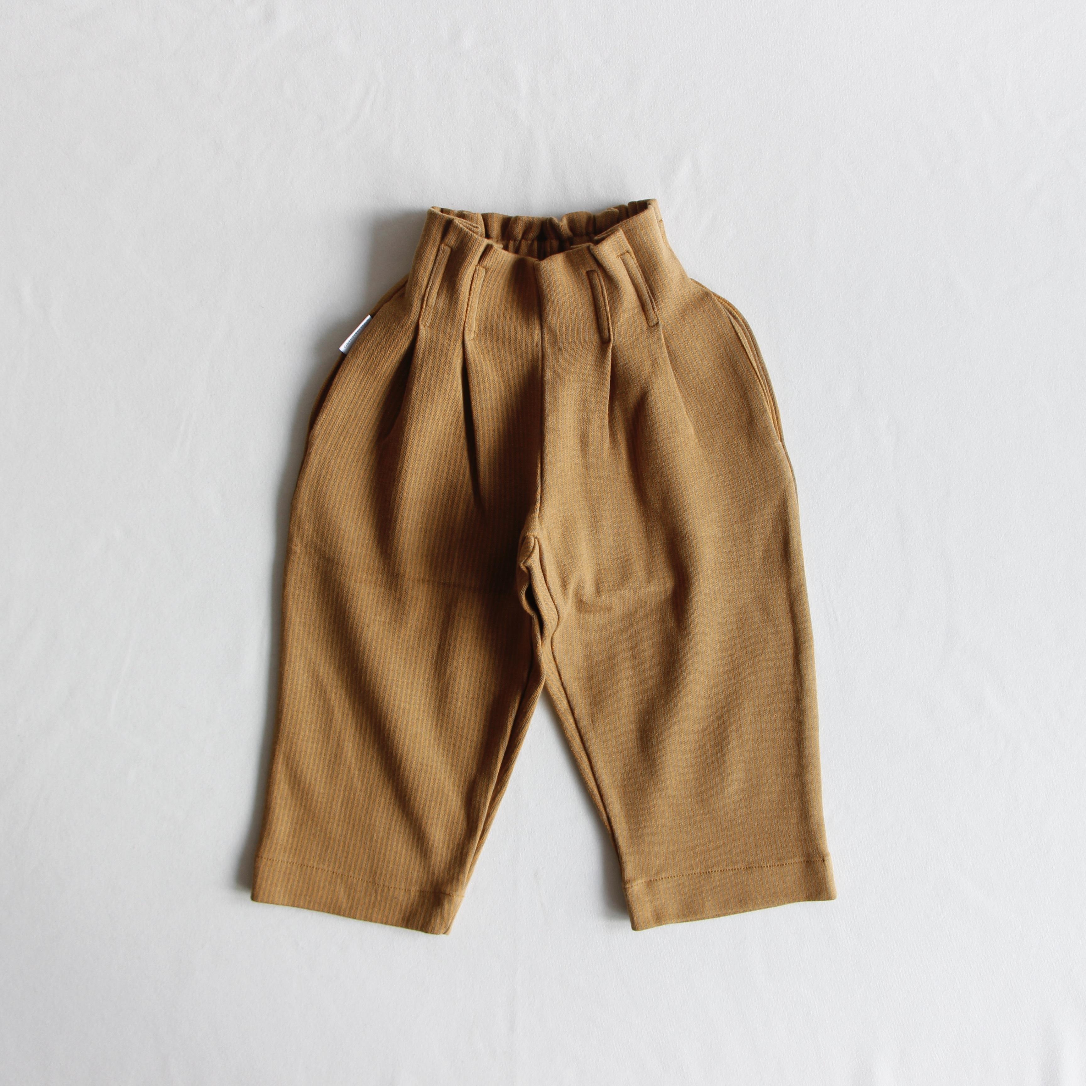 《MINGO. 2020AW》Trouser / Ochre