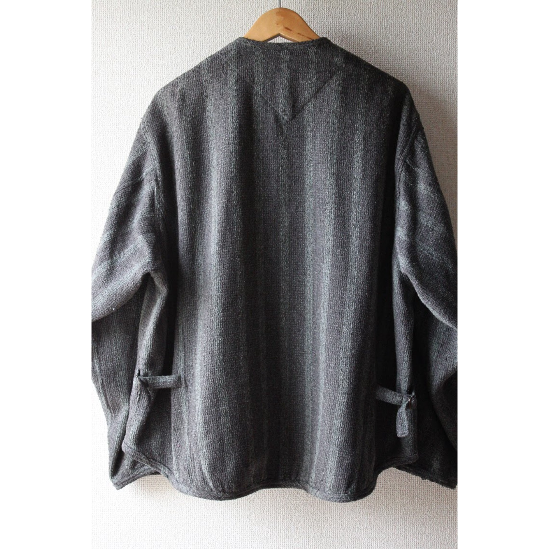 Vintage no collar jacket