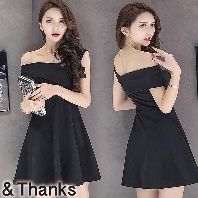 ドレス特集 ワンショルダードレス 1カラー 4サイズ