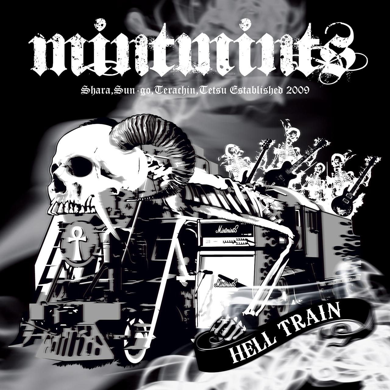 CD+DVD:『HELLTRAIN』mintmints(ミントミンツ) - 画像1