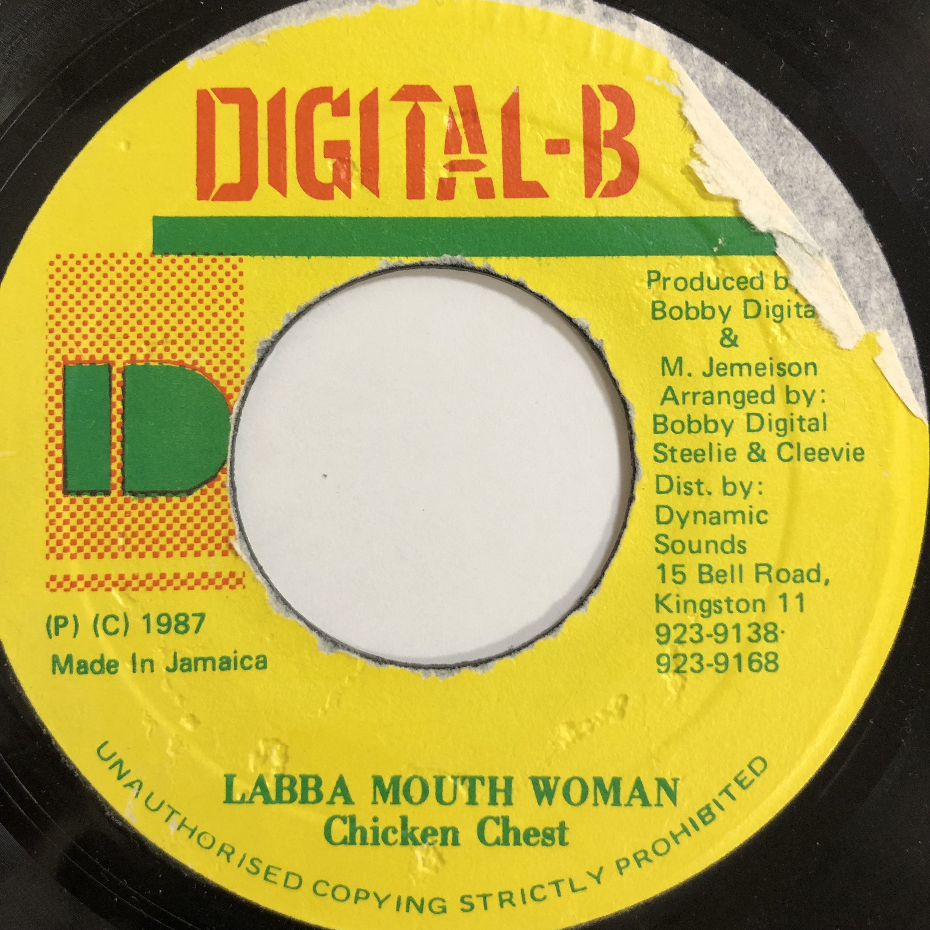 Chicken Chest(チキンチェスト) - Labba Mouth Woman 【7-20017】
