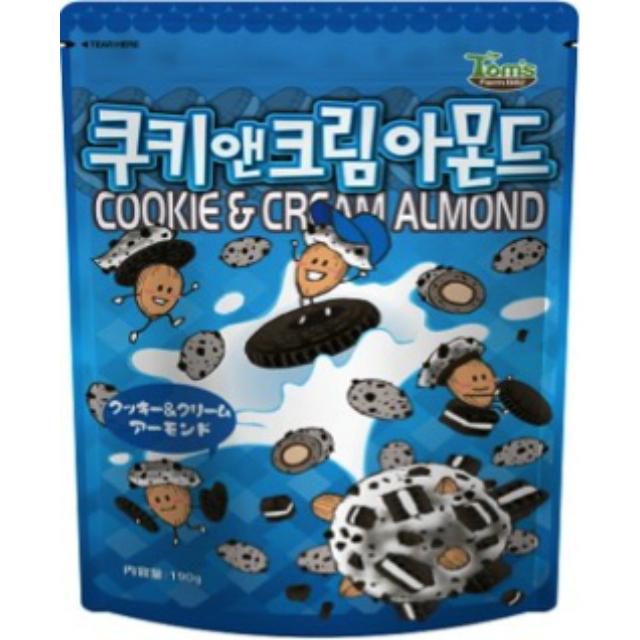 クッキー&クリーム味アーモンド