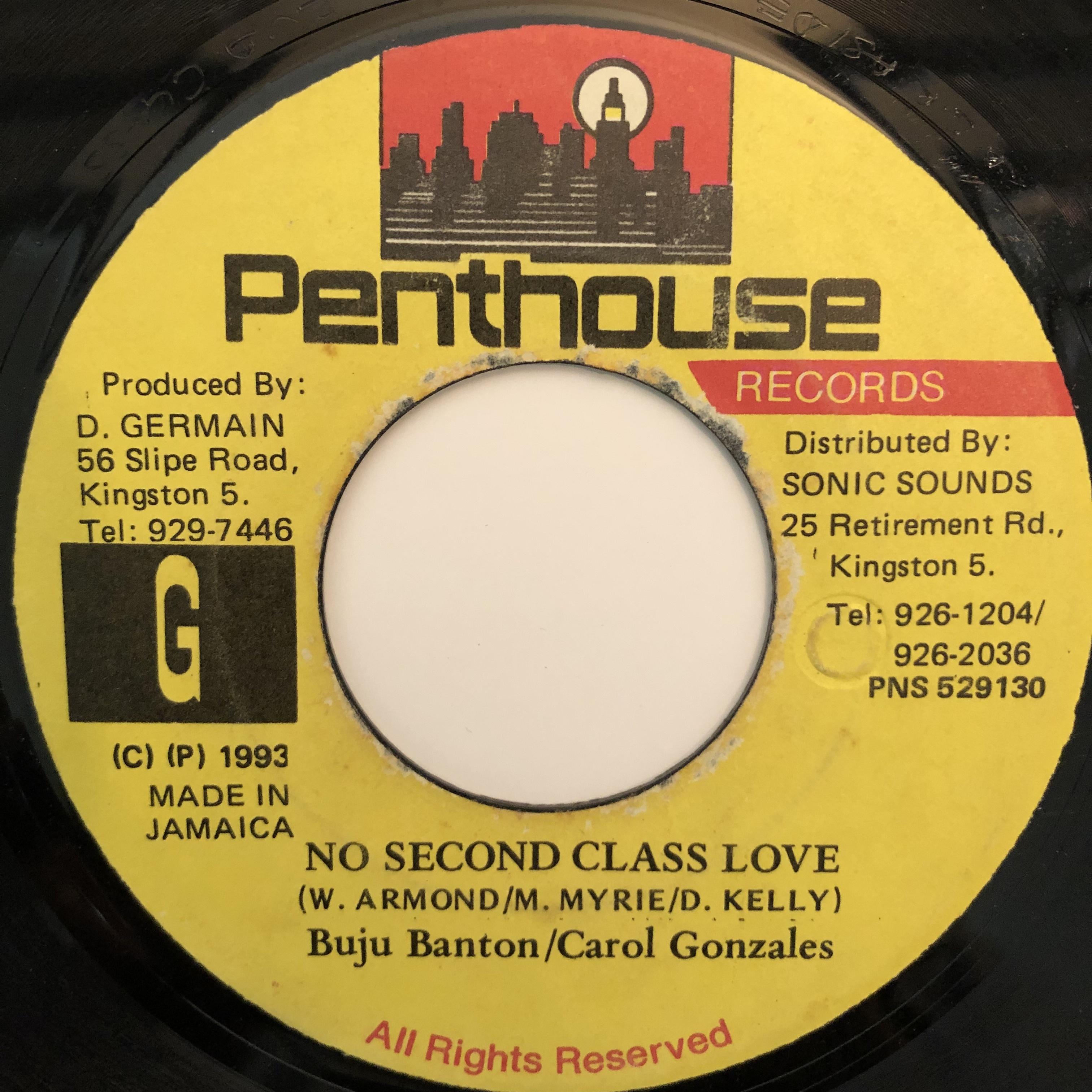 Buju Banton, Carol Gonzales - No Second Class Love【7-20313】