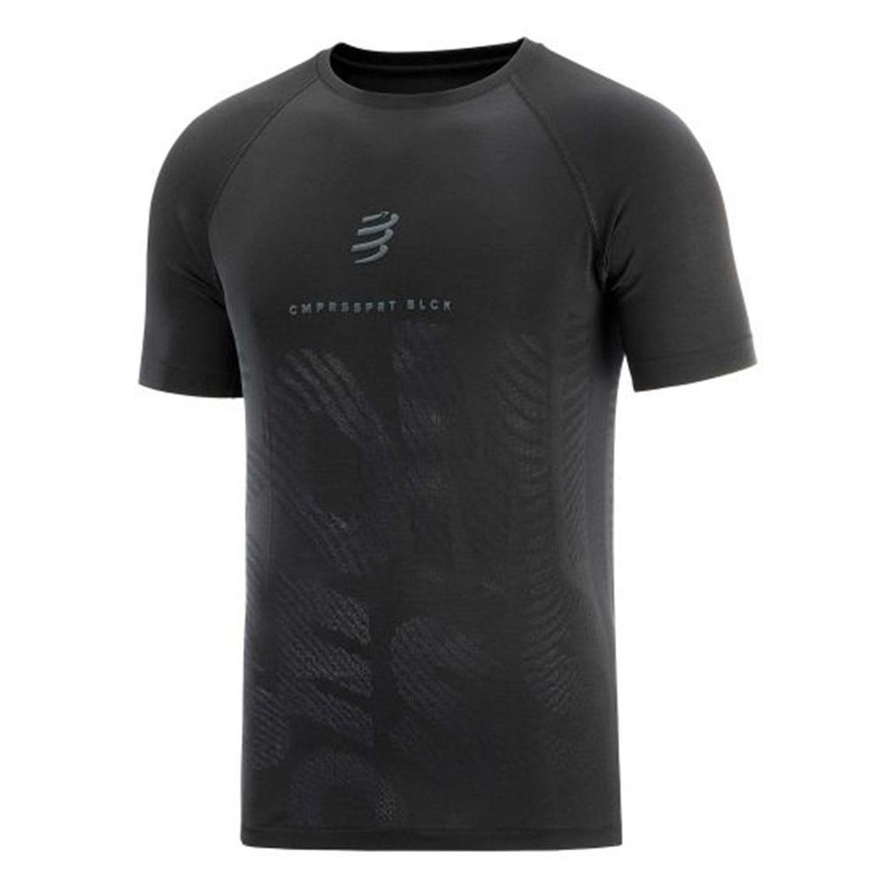 【NEW】COMPRESSPORT コンプレスポーツ メンズ Training Tshirt SS - Black Edition 2020 トレーニング Tシャツ ショートスリーブ ブラックエディション 2020