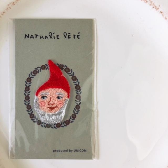 Nathalie Lete Applique  Dwarf アイロンアップリケ・ワッペン