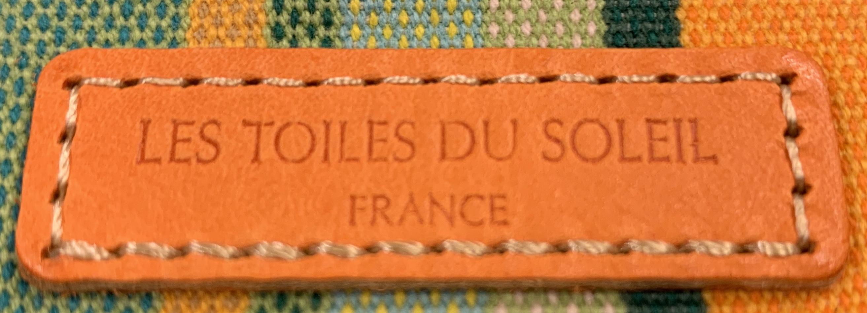 【LES TOILES DU SOLEIL】レザーミニウォレット RtArgeles オレンジ