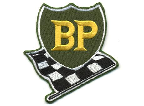 BP・フラッグ・ロゴ・ワッペン