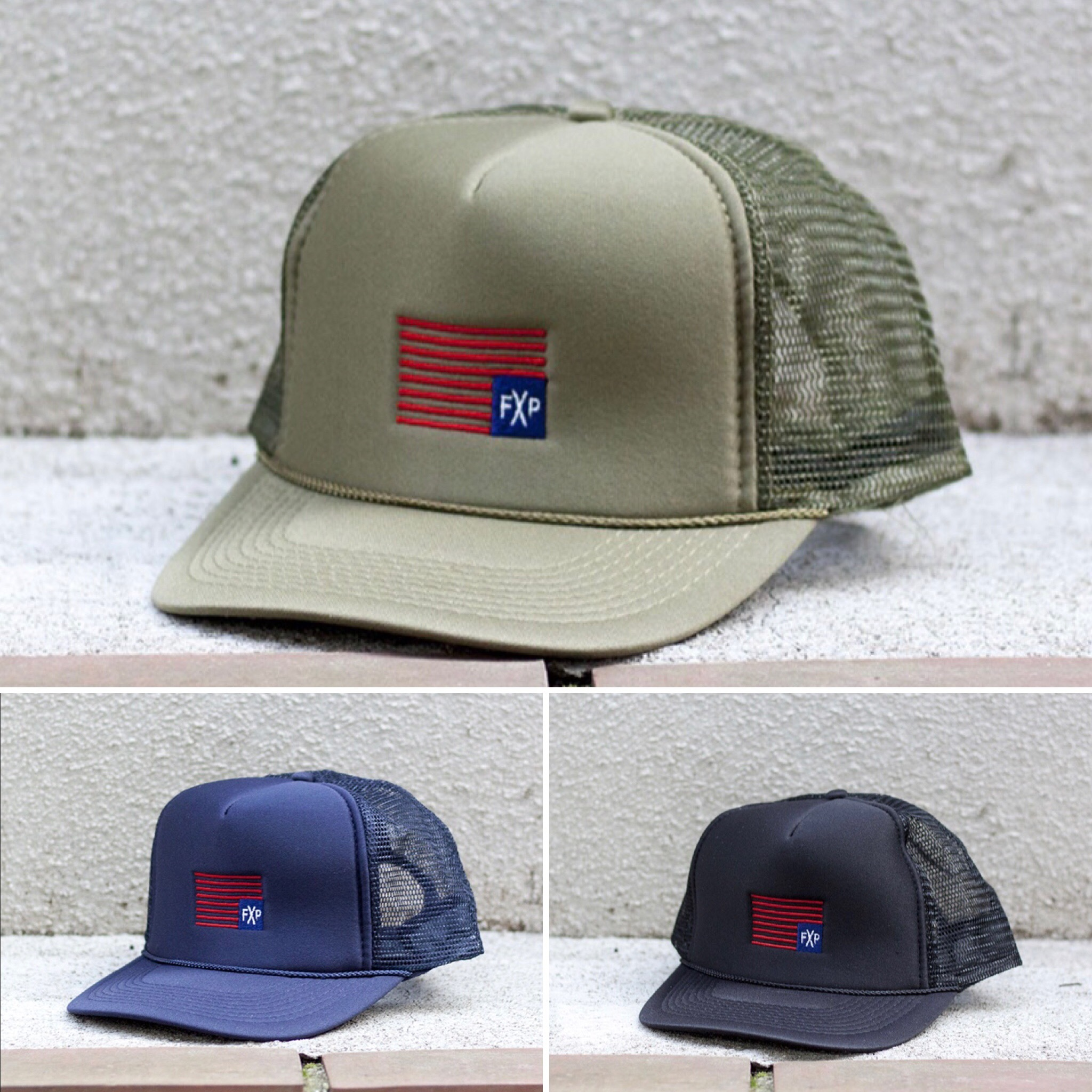 FLASH PACKER XM-STRIPE  OLIVE / NAVY / BLACK