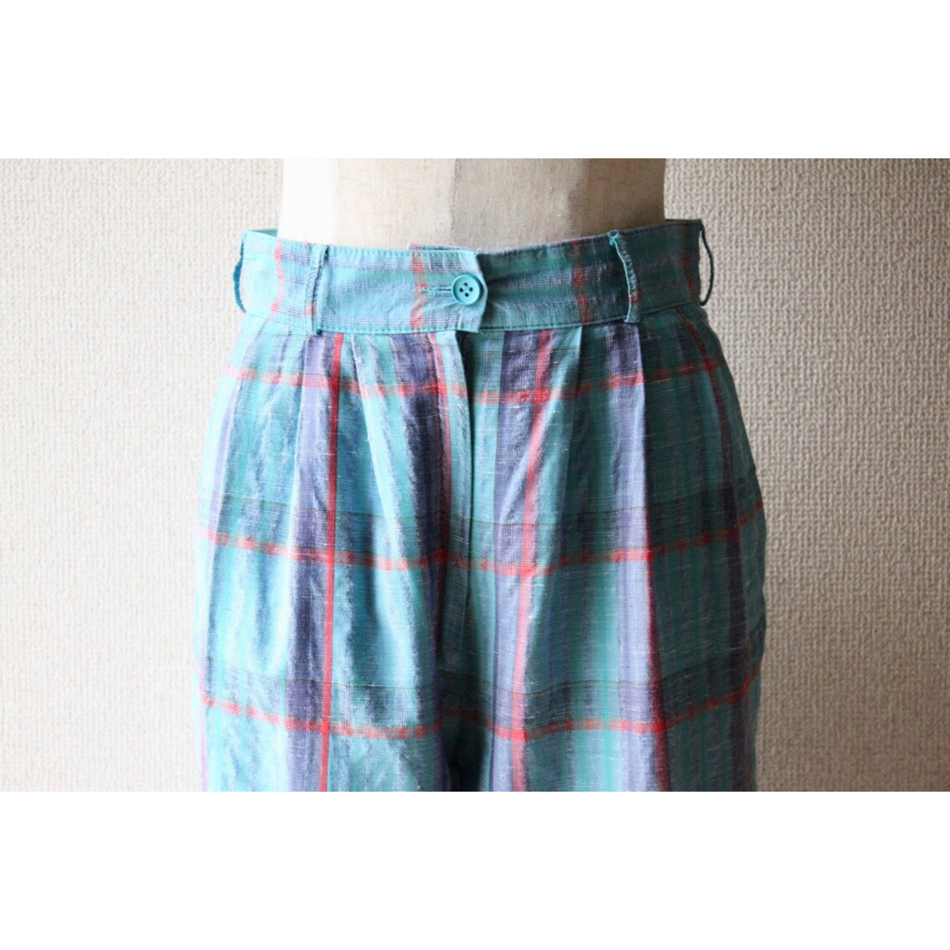 Vintage check slacks