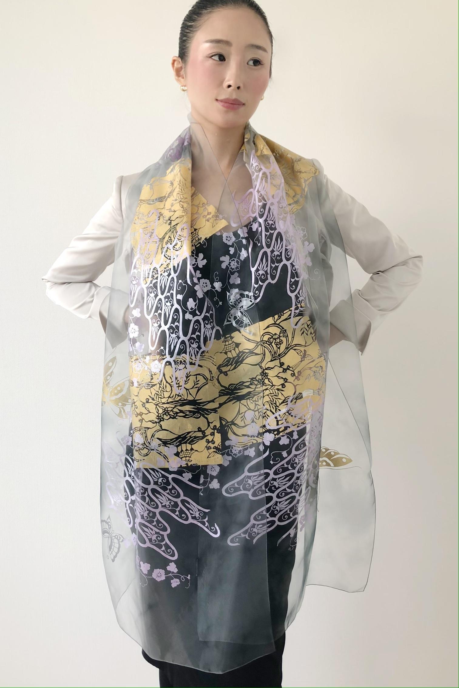 天女の羽衣_JAPONISM 半巾