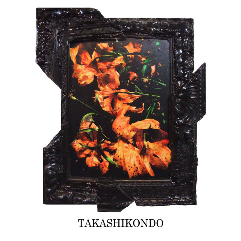 TAKASHIKONDO 絵画 Rasin Frame Series (Black)
