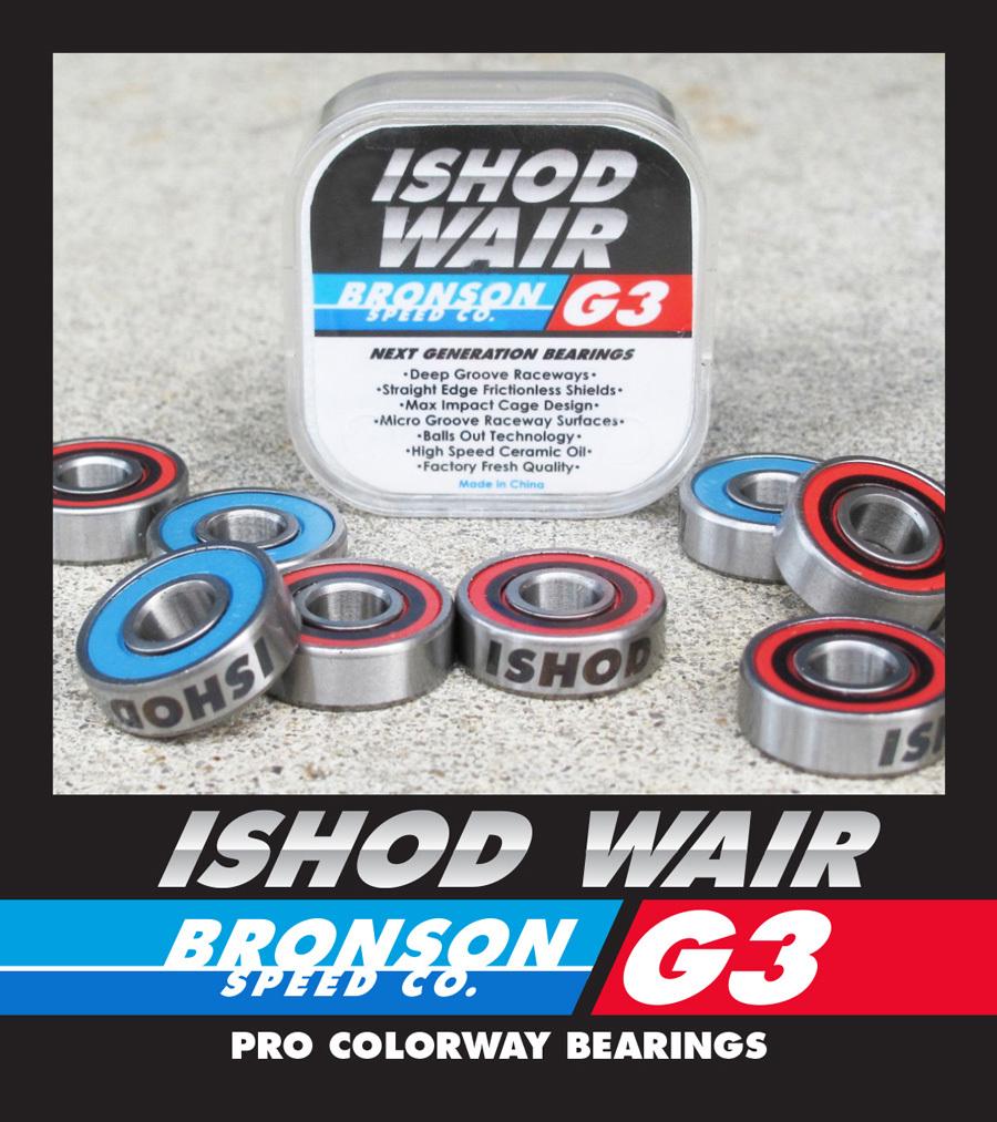 BRONSON 【Pro G3 Ishod Wair】
