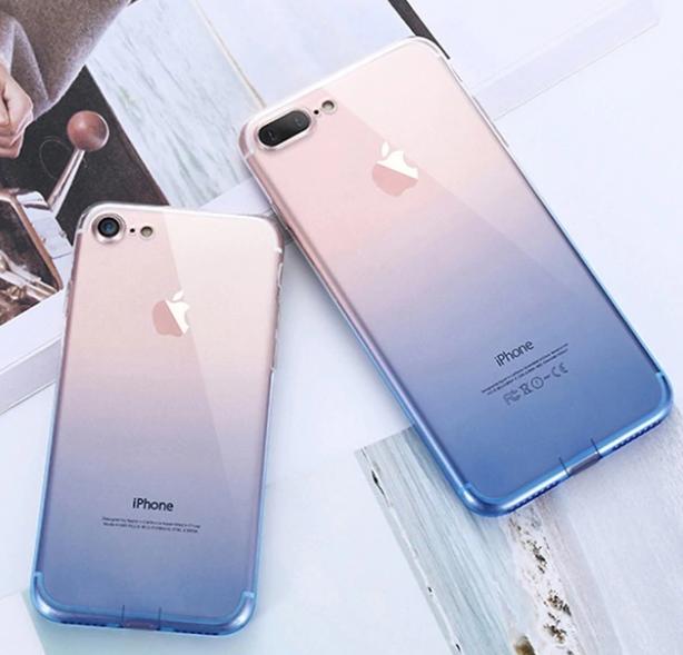 【お取り寄せ商品、送料無料】かわいいクリア iPhoneケース