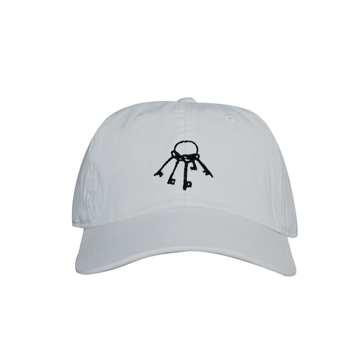 WWWTYO x RepMCD 5th ANNIVERSARY / KEY TO MCD BALL CAP (WHITE)