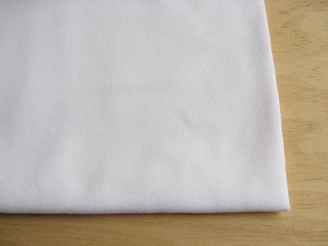 J&B定番 綿30双糸スーパー度詰天竺 スノーホワイト #01 NTM-1627