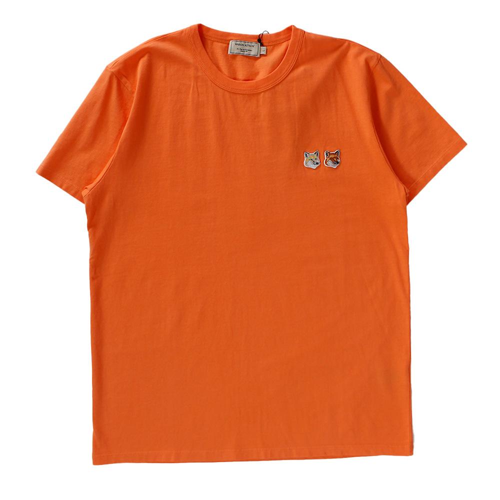 MAISON KITSUNE  T-shirt Orange