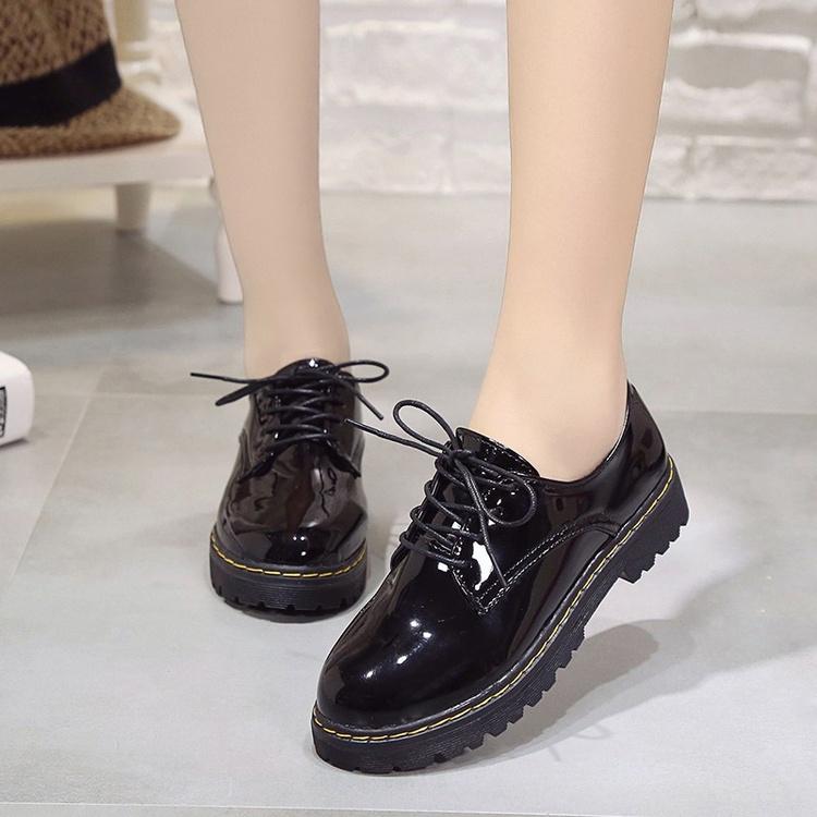 【shoes】定番無地丸トゥ防水パンプス20640924