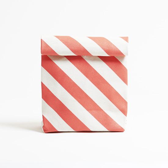 kamibukuro/vermilion × stripe  カミブクロ / 朱 x 縞