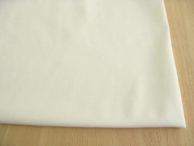J&B定番綿コーマ糸40双糸天竺ニット ミルク NTM-2613
