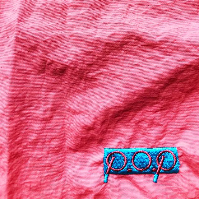 P.O.Pボックスロゴナイロンショーツ(ピンク) - 画像4