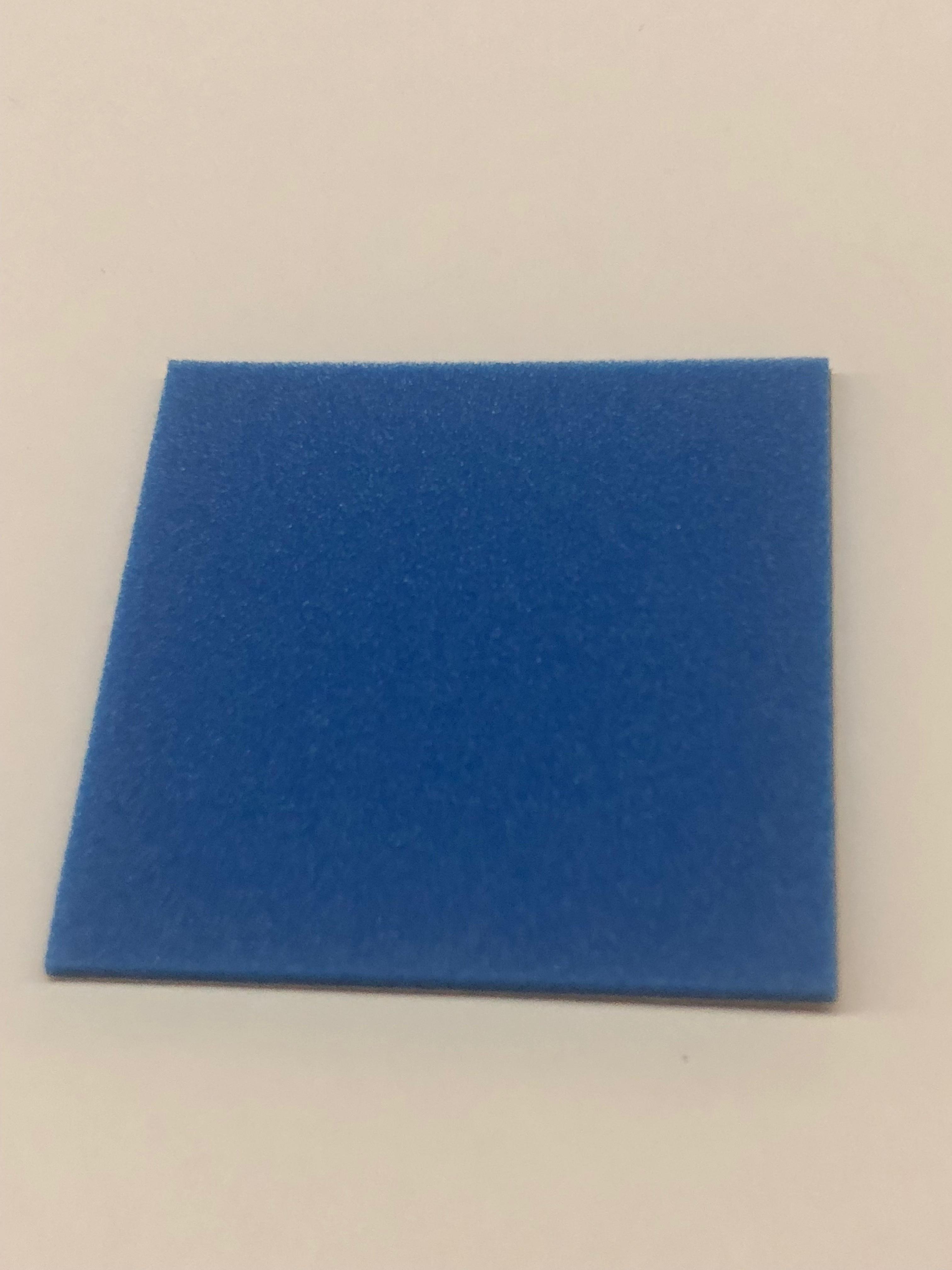 ブレーキスポンジ ブルー 2mm ハーフ