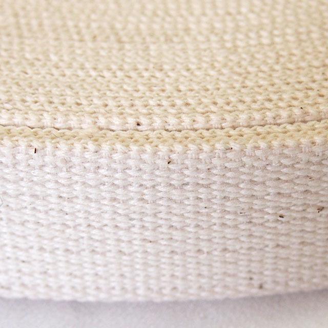 綿テープ コットン 厚地 生成 30mm幅 1m