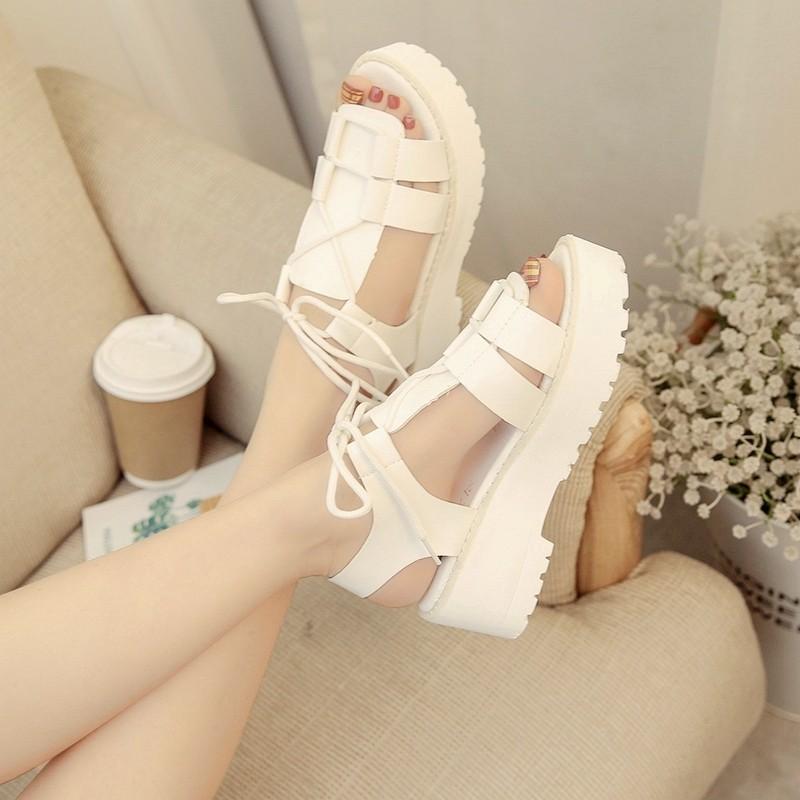 【shoes】合わせやすい学園風ファッション清新サンダル22330707