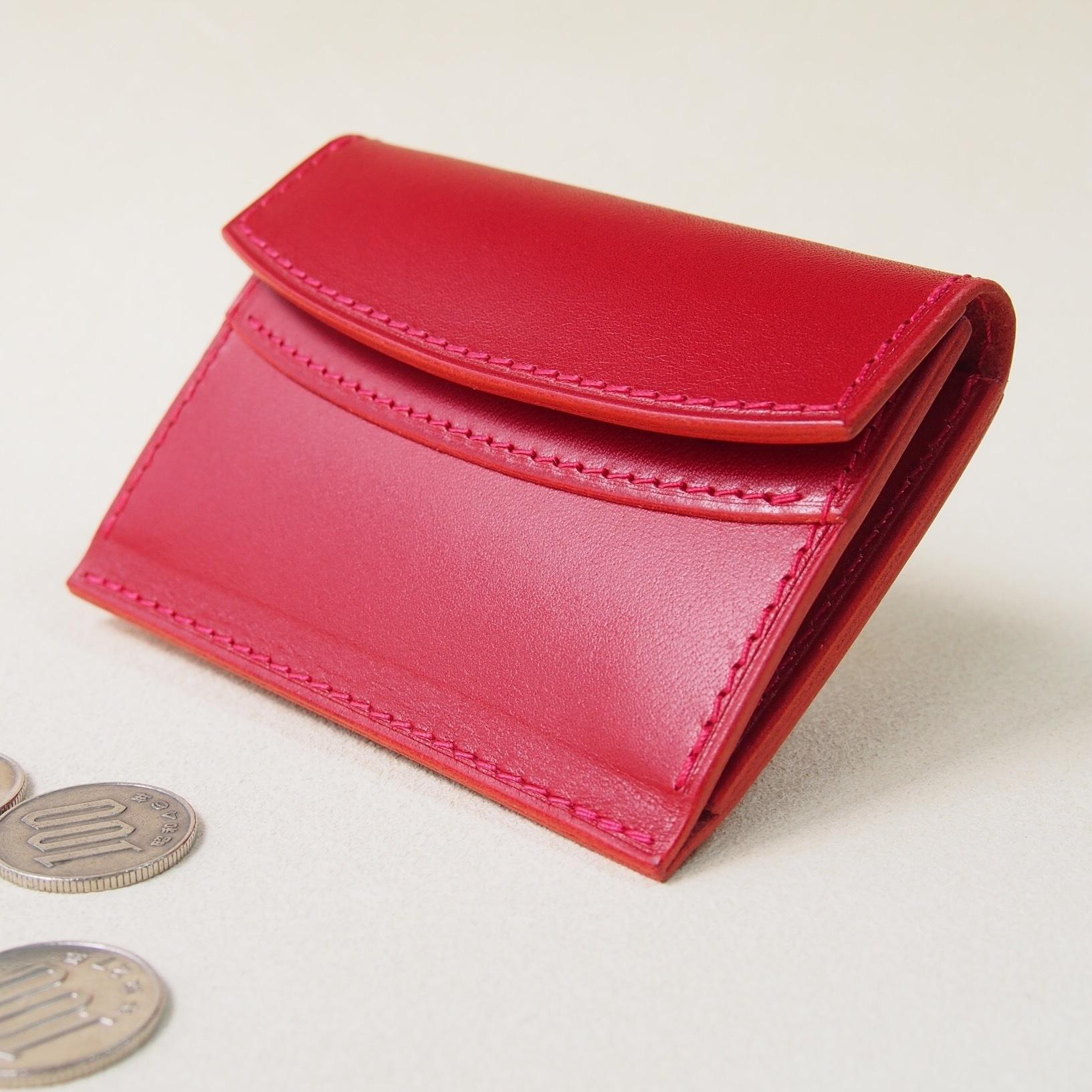 手のひら財布 #レッド