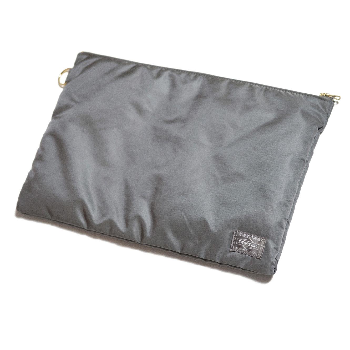 SEASONING×PORTER CLUTCH BAG - GRAY