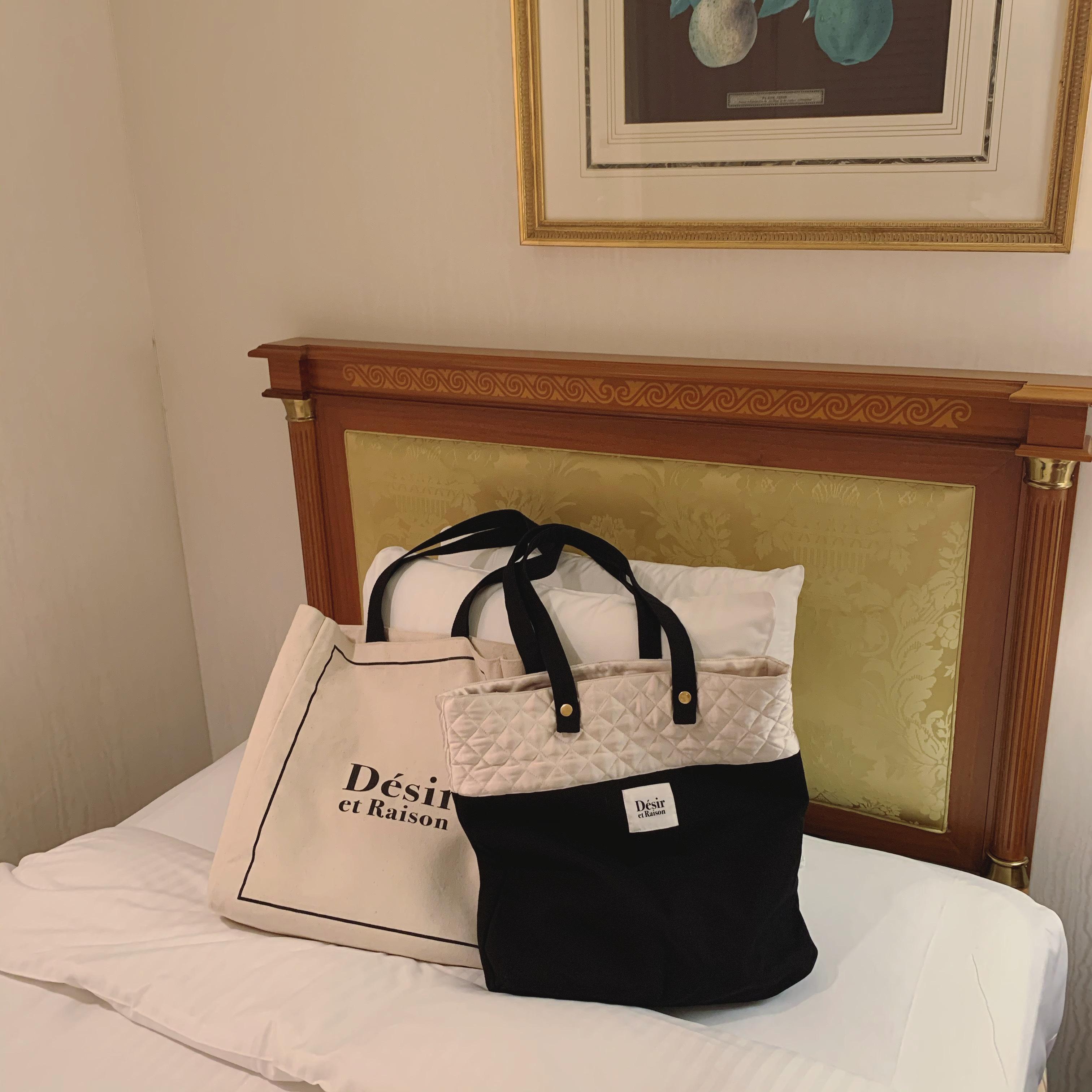 【Désir original】quilting tote bag