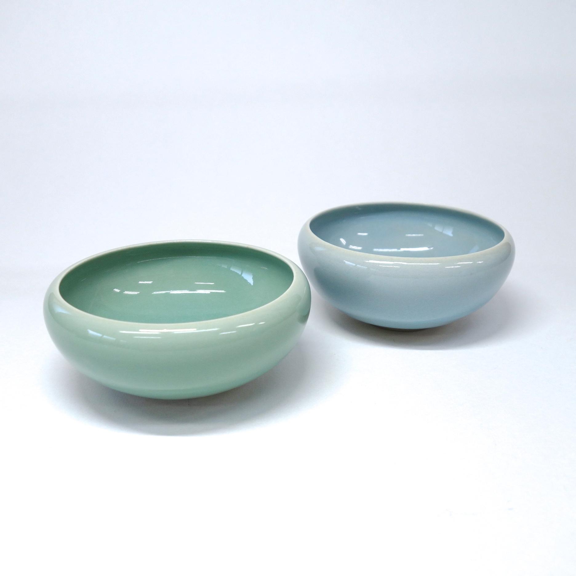 青磁3寸小鉢2個セット