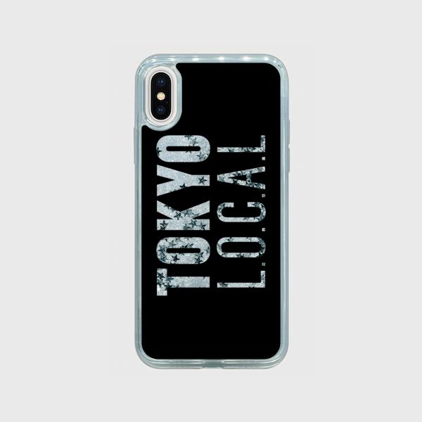 「TOKYO L.O.C.A.L type C」グリッターiPhoneケース