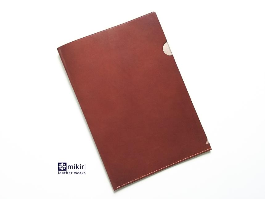 ◆刻印可◆クリアじゃないクリアファイル チョコ A4サイズ