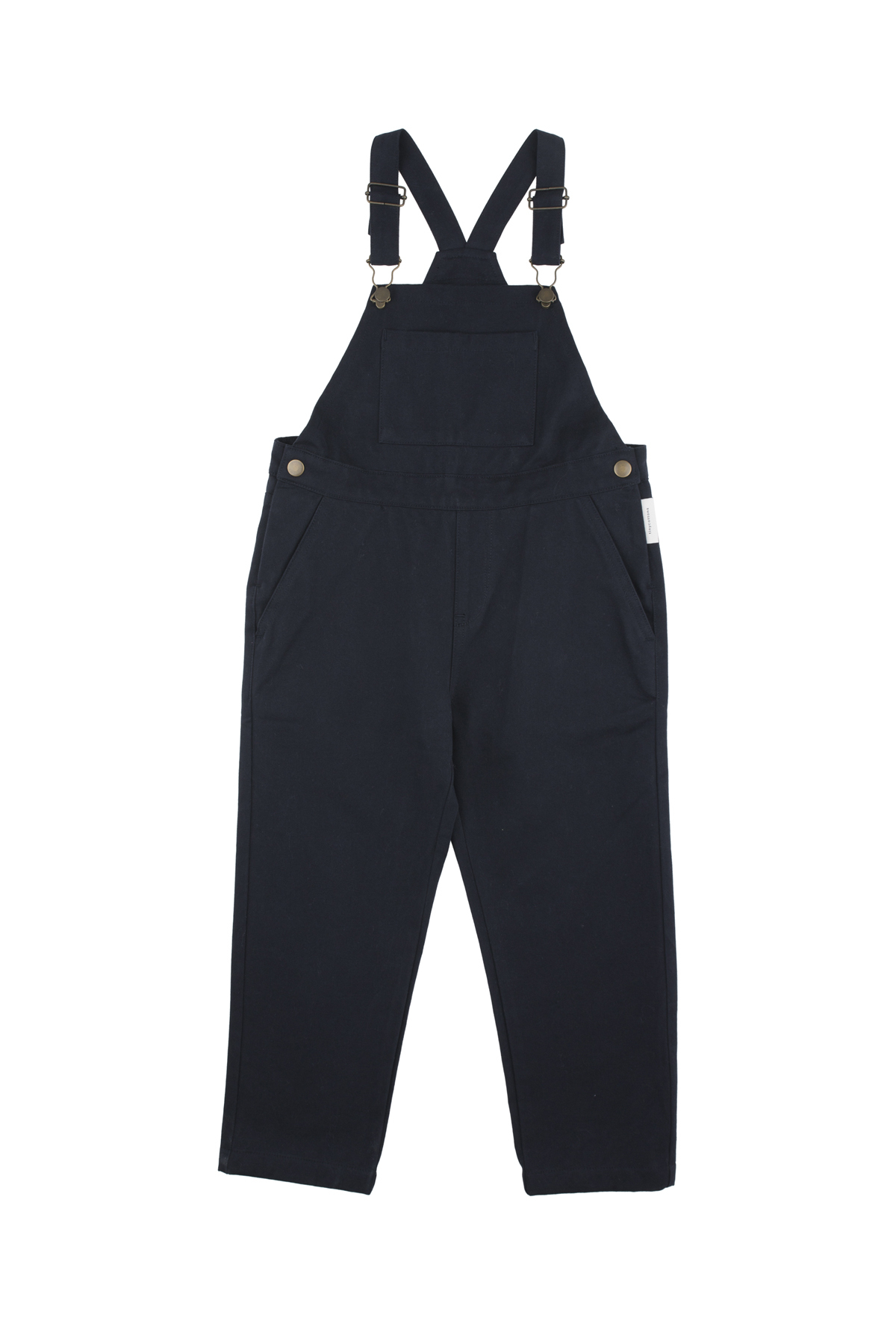 《tinycottons 2018AW》solid overall / navy