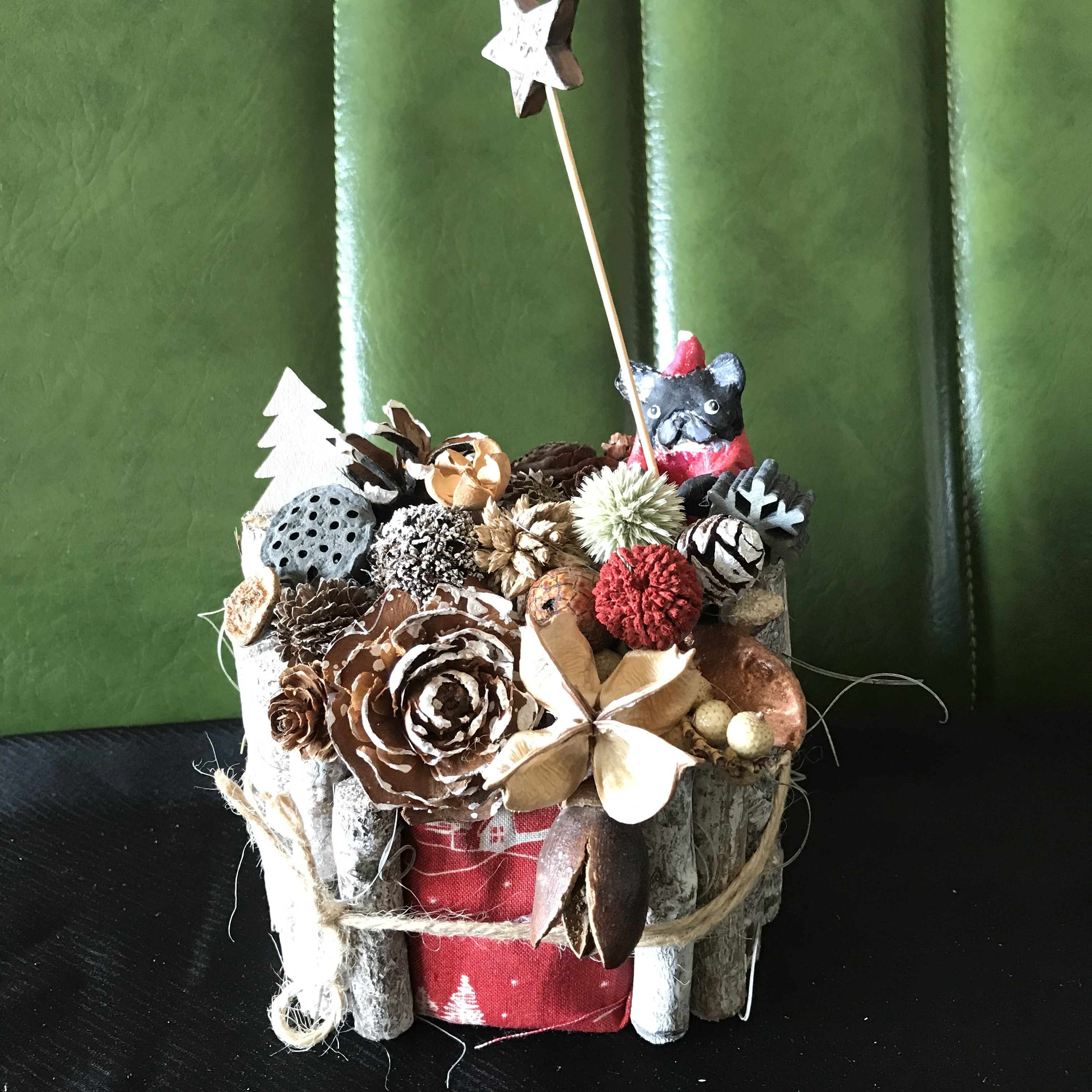白樺の森のBUHIクリスマス(ブリンドル)