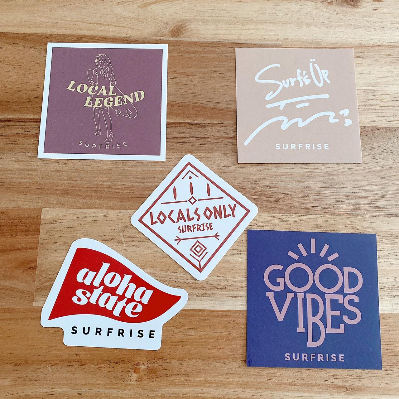 Sticker set - White