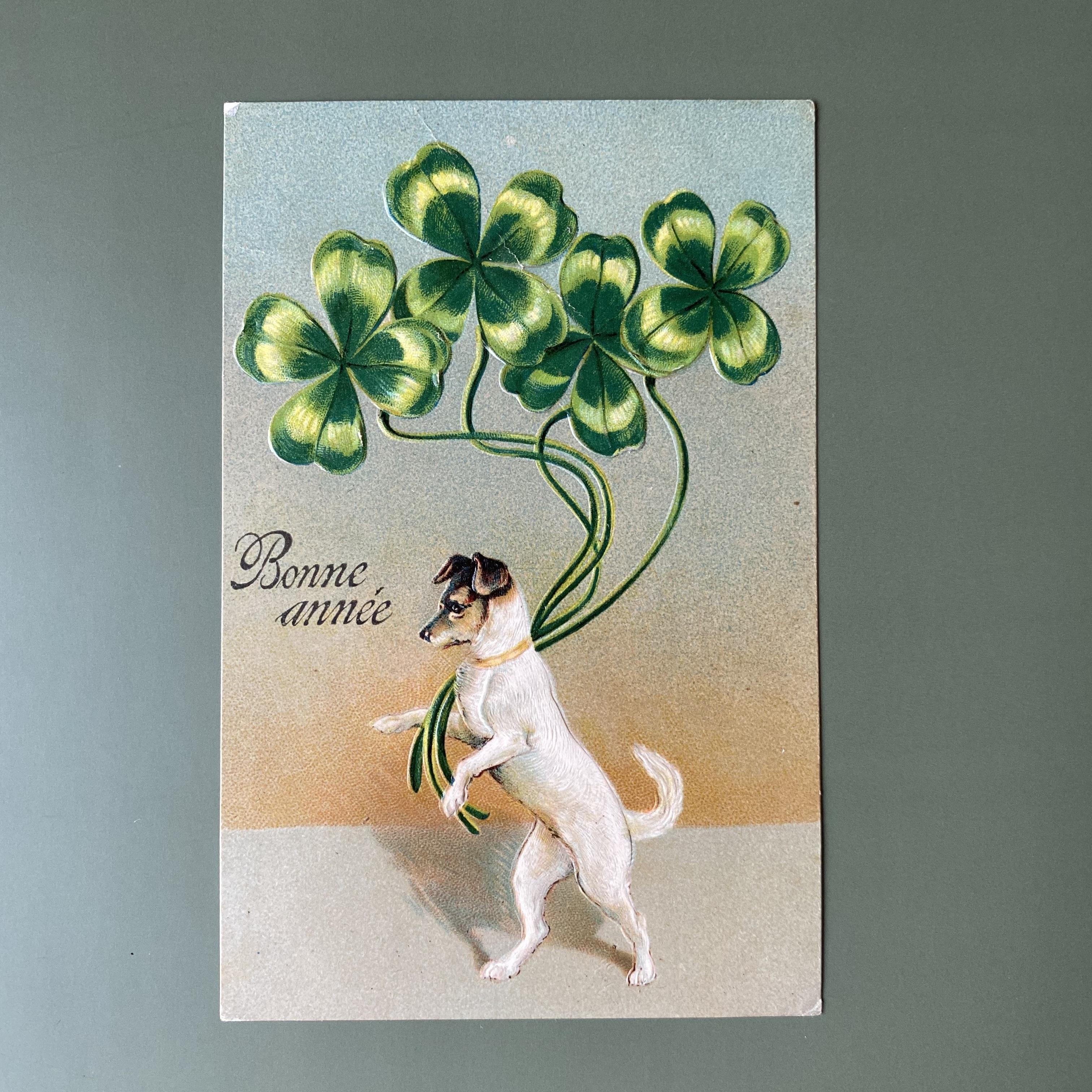 アンティーククローバーのポストカード・d /  vp0182